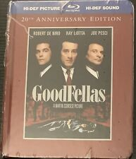GoodFellas (Blu-ray Disc, 2010, 2-Disc Set, 20th Anniversary Edition) New