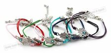 100 Mix Multi colored Hamsa HAND Evil Eye Bracelet STRING HOLY Success Good Luck