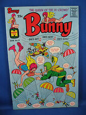 BUNNY 15 File Copy Sky Diving Cover 1970