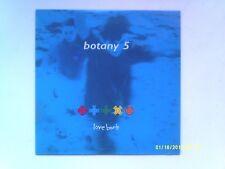 "BOTANY 5 LOVE BOMB 7"" SINGLE 1990 N/MINT"