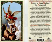 Prayer to Saint Michael the Archangel Guardian Card Defender of Jesus Church