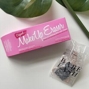 Pink Reusable Daily Makeup Remover Gentle Eraser Cloth | + FREE GIFT LASH CURLER