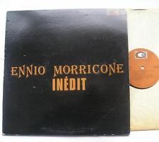 *ENNIO MORRICONE Inedit (Incontro, Escalation...) CANADA '70s LP Film Soundtrack