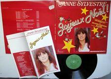 ANNE SYLVESTRE Joyeux Noel GATEFOLD LP +special booklet Christmas Holiday French