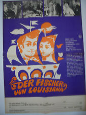 627 DDR A2 FILMPLAKAT 1969 DER FISCHER VON LOUISIANA  THE TOAST OF NEW ORLEANS