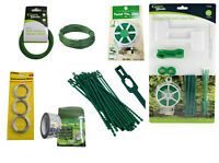 Garden Plastic Plant Cable Adjustable Tree Climbing Support Tie Wire Labels Wire