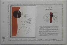 Document Artistique DAP 298 1er jour 1977 Trémois Peintre