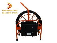 Kyrie Cam Model 1500S CTR WL, 150' sewer camera with counter, sonde & WIFI