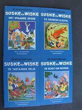 4 x  Speciale Suske en Wiske pocket  met blauwe omslag !!