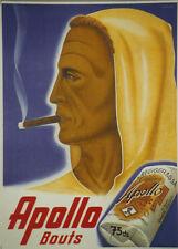 Original Plakat - Apollo Bouts - Hediger Cigares