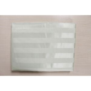 Striped Pattern Fabric Waterproof Bathroom High Grade Shower Curtain With Hooks