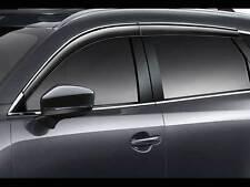 Genuine OEM 2016-2018 Mazda CX-9 Side Window Deflectors