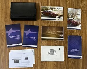 2017 Subaru Impreza Owners Manual with Navigation & Case