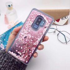 Liquid Brillo Silicona Funda Cubierta para Samsung Galaxy 8 S9 S8 Plus S7 Note Borde