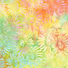 Timeless Treasures Batik Fabric, TONGA-B6467 MEADOW, Half Yard Fabric, Quilting