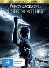 Percy Jackson And The Lightning Thief (DVD, 2010, 2-Disc Set) R4 DVD FREE POST