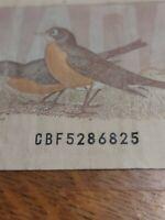 ➡➡CBF RADAR $2 1986 BC-55b Note Bank of Canada PALINDROME S/N CBF5286825