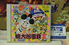 SUPER MOMOTARO DENTETSU II  , NEC PC ENGINE HUCARD  japanese version