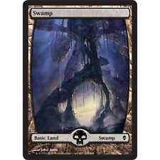 MTG ZENDIKAR * Swamp (#238) (Extended Art) (foil)