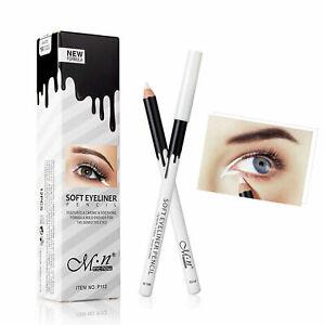 White Eyeliner Makeup Smooth Brightener Soft Eye Liner Pen Long lasting Pencils