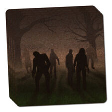 Rise of the Zombie Horde Thin Cork Coaster Set of 4