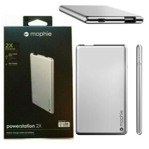 Mophie 2X Powerbank Backup Battery Charge For iPhone Samsung Huawei Tablet