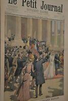 Mariage du commandant Mangin / Le petit journal sup illustré N°495 / 13 mai 1900