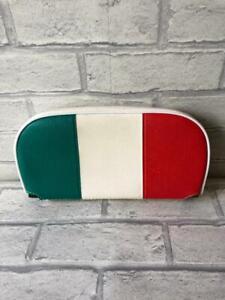 Mod Scooter Slipover Cuppini Backrest Pad in Italian Flag Design 000921