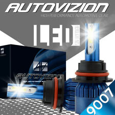 AUTOVIZION LED HID Headlight kit 9007 HB5 White for 2000-2003 Chrysler Voyager