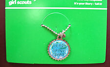 Necklace Charm Pendant It'S Your Story-Tell It, Girl Scout Collector Gift