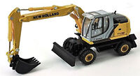 NEW HOLLAND We170 WHEELED EXCAVATOR 1/87 HO Scale Vehicle HWP HOBBY WORK