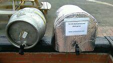 More details for 1 x ice sheet & 1x insulated cask jacket cask beer cooler pub ale bar barrel keg