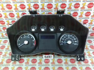 2011 11 FORD F350 6.2L MPH INSTRUMENT CLUSTER SPEEDOMETER BC3T-10849-CAB OEM