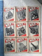 The War Illustrated Volume 1: No 1 and No's 4-20 (18 magazines)