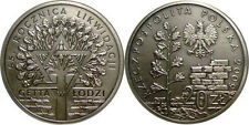 silver coin - JEWISH GETTO in LODZ made by hitler - Oxydized coin