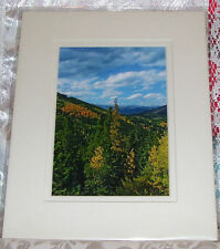 PHOTO ART JUNIPER PASS ARAPAHO NAT FOREST CO 5X7 MATTED 8X10 SIGNED #7/250