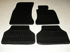 BMW 5 Series E60 Auto Saloon 2003-10 Fully Tailored Deluxe RUBBER Car Mats Black