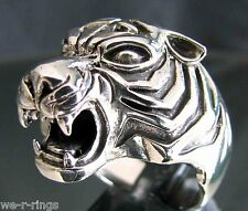 Sterling Silver .925 Tigers Head Ring RG22/S