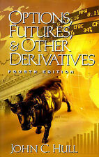 Options, Futures, and Other Derivatives, Very Good Condition Book, Hull, John C.