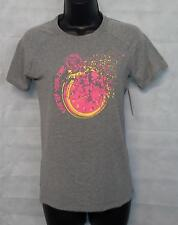 Womens New Balance Short Sleeve T Shirt Top Size Small Grey # 4657