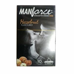 Manforce Hazelnut Condoms - Extra Dotted  20 condoms ORIGINAL FS