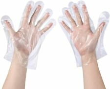 Disposable Gloves Clear Sanitary Gloves Plastic Dishwashing Catering Gardening
