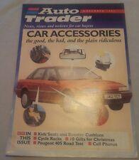 Auto Trader Magazine Supplement Nov 1992 Marcos Peugeot 405 RoadTest Child Seats