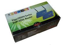 DrayTek Vigor 2600V Series  ADSL Router Neuwertig !!!                        *30