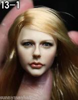 "KUMIK 13-1 Chloe Moretz 1/6 Scale Female Head F 12"" Women Action Figures Toys"