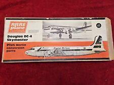 RARE PLANE VACFORMS DOUGLAS DC-4 SKYMASTER MODEL AIRCRAFT KIT