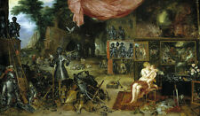 The Five Senses (Series), Touching by Brueghel & Rubens Old Masters 11x19 Print