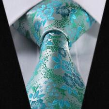 Cravatte e papillon da uomo verde senza marca in misto seta