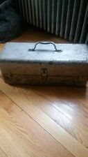 Large Antique Tackle Box and Lures