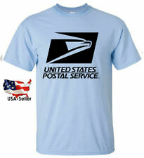 USPS Postal Post Office Sleeve Tee Unisex T-shirt Pick color New Free Shipping
